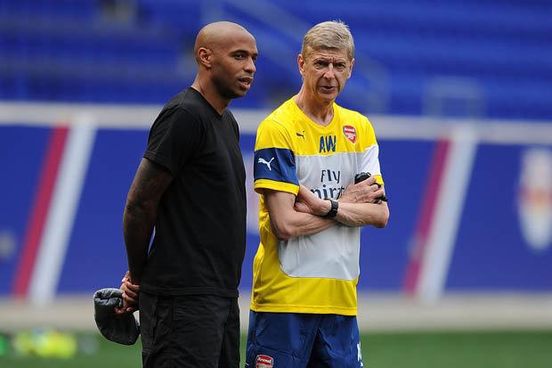 Wenger mendukung Henry di karier manajemennya