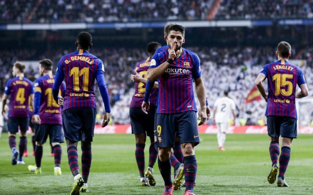 Barcelona Taklukan Real Madrid 3-0 di Bernabeu