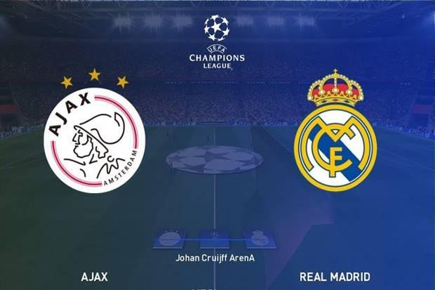 Prediksi Ajax Amsterdam vs Real Madrid