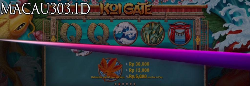 Situs Judi Slot Permainan Koi Gate