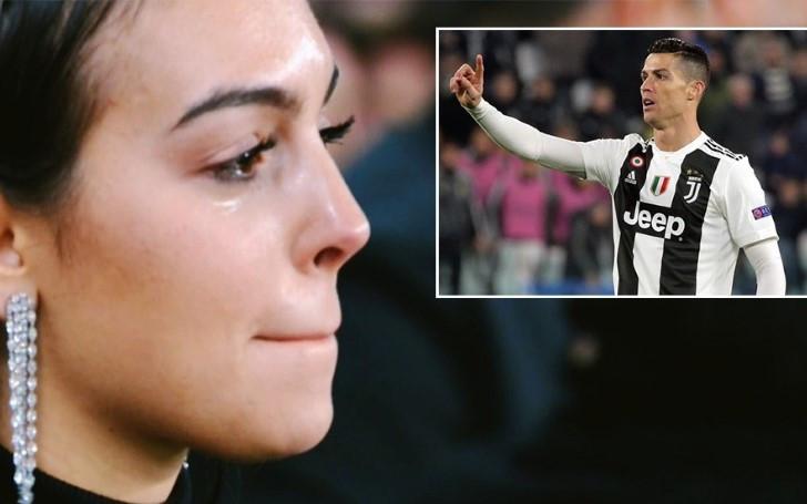 Tangis Haru Georgina Saat Melihat Cristiano Ronaldo Mencetak Hat-trick