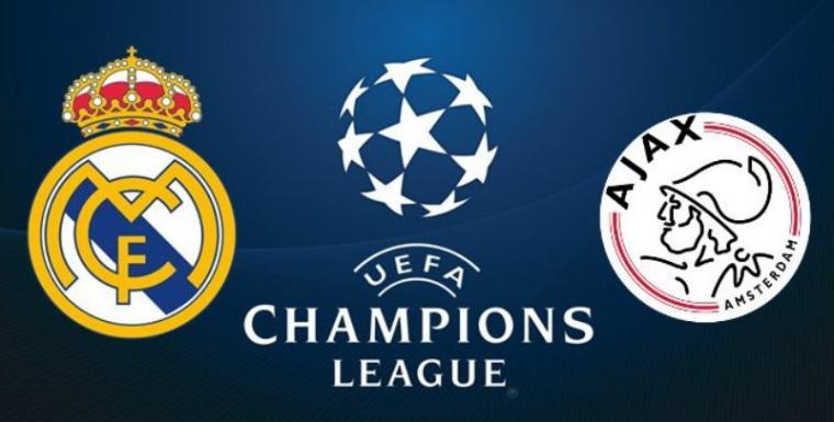 Prediksi Real Madrid vs Ajax Amsterdam 06 Maret 2019