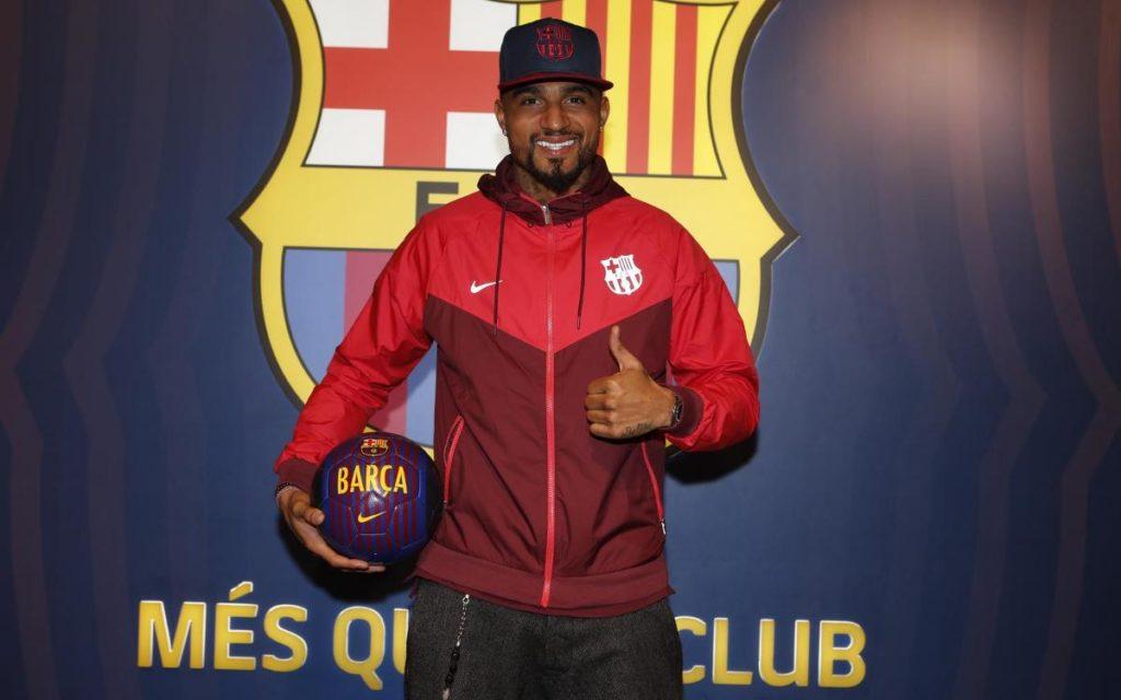 Alasan Barcelona Memilih Boateng