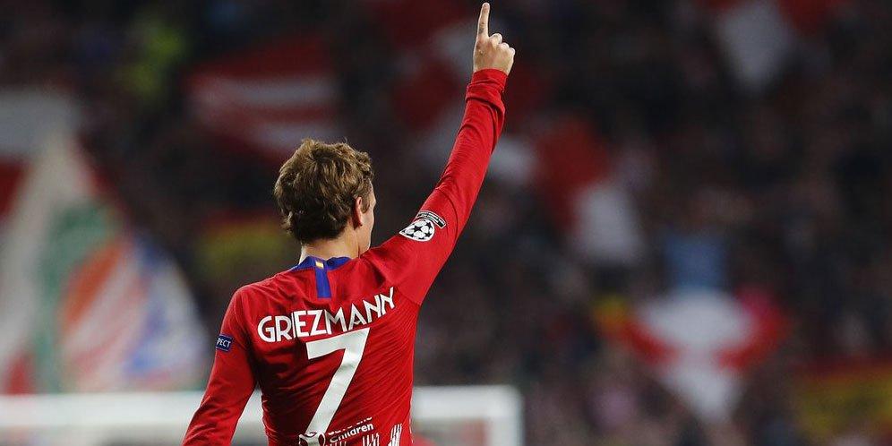 Setan Merah Coba Membajak Transfer Antoine Griezmann