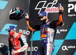 Oliveira Raih Podium Utama di Seri Pamungkas MotoGP 2020, Bagaimana dengan Rossi?