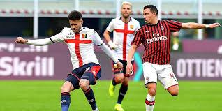 Dapat Satu Poin di Kandang Genoa, Milan Kian Dipepet Rival Sekota
