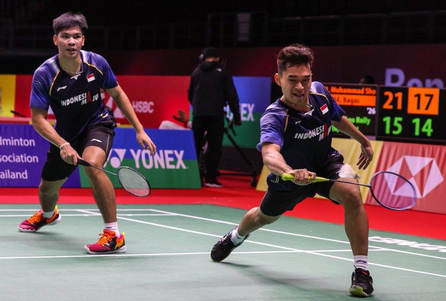 Buat Kejutan, Leo/Daniel ke Semifinal Thailand Open 2021