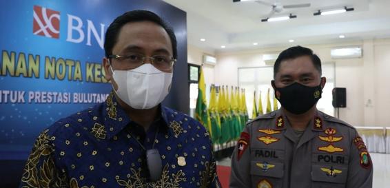 Ketum PBSI Lepas Kontingen Indonesia di Piala Sudirman dan Piala Thomas-Uber