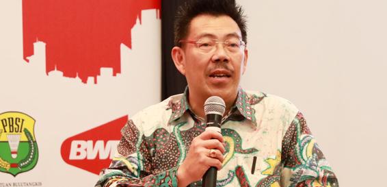 Bambang Roedyanto  Masuk Nominasi Dewan BWF