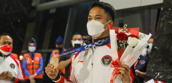 Anthony Ginting Curhat Usai Raih Perunggu di Olimpiade Tokyo