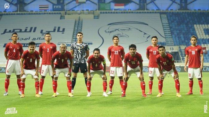 Jadwal Indonesia vs Taiwan di Kualifikasi Piala Asia 2021